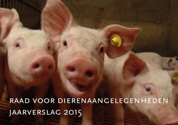 raad voor dierenaangelegenheden jaarverslag 2015
