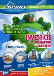 Časopis RK SPIRIT 01/2011