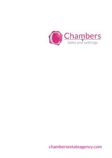 Chambers Sales and Lettings Residential Sales Brochure