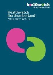 Healthwatch Northumberland