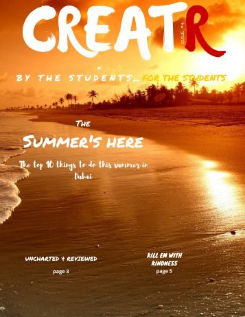 Creatr Issue #4