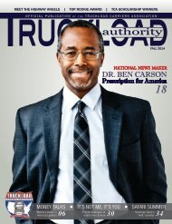 Truckload Authority - Fall 2014