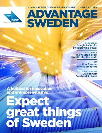 Expect great things of Sweden