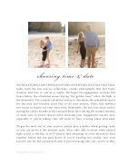Engagement Session Style Guide - Page 6