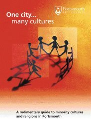 One City Many Cultures Book (1.25 MB) - Portsmouth City Council
