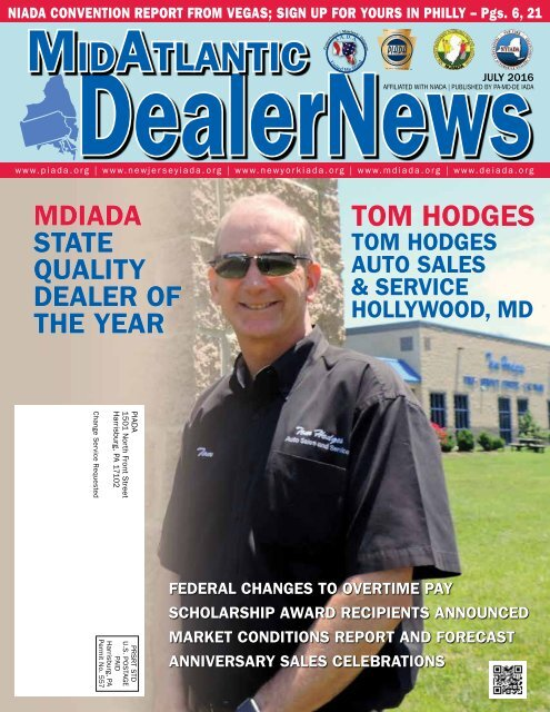 JULY 2016 MidAtlantic Dealer News