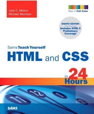 Teach Yourself HTML and CSS in 24 pdf