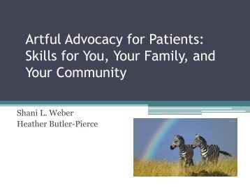 strategies for helping patients and families Teaching patient-centered since communication is such an important part of patient-centered care, strategies for teaching helping patient/family understand.