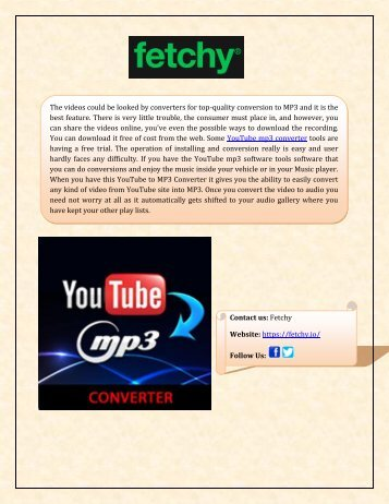 Download YouTube to mp3 converter
