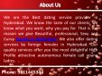 Professional Independent Hyderabad Escorts Services - Page 2