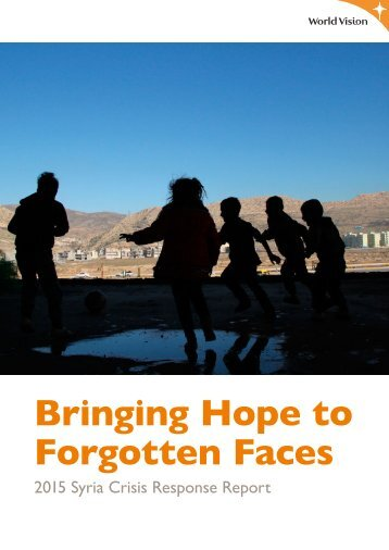 Bringing Hope to Forgotten Faces