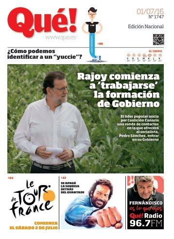 Rajoy comienza a 'trabajarse' la formación de Gobierno