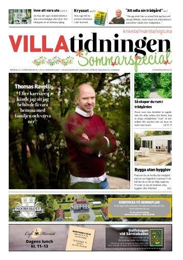 Knivsta/Märsta/Sigtuna 2016 Sommarspecial
