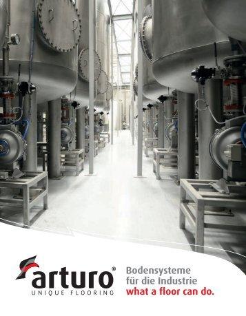 Arturo Bodensysteme für die Industrie