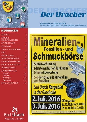 Der Uracher KW 26-2016