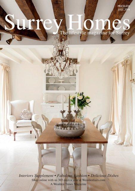 Surrey Homes   SH21   July 2016   Interiors supplement inside