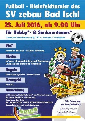SV Bad Ischl - Kaiserturnier 2016