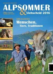 Alpsommer & Viehscheid 2016