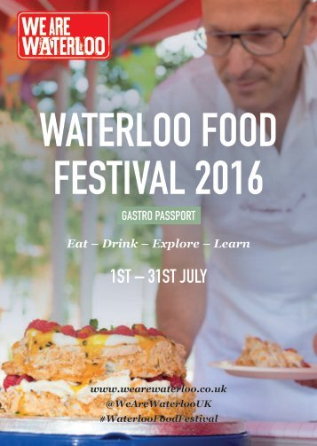 WATERLOO FOOD FESTIVAL 2016