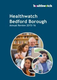Healthwatch Bedford Borough