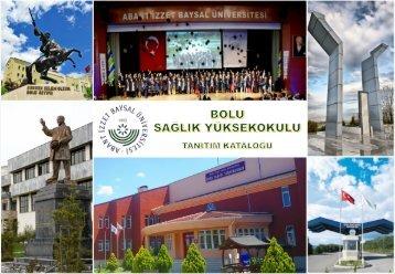 Bolu Sağlık Yüksekokulu Tanıtım Kataloğu Türkçe