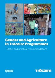 Gender and Agriculture in Trócaire Programmes
