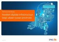 Kwaliteit digitale infrastructuur loopt uiteen tussen provincies