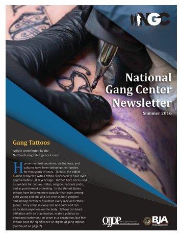 Gang Center Newsletter