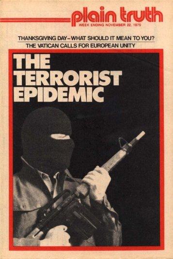 Plain Truth 1975 (Prelim No 19) Nov 22 - Herbert W. Armstrong