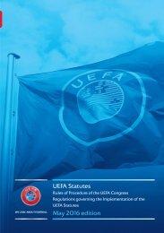 UEFA Statutes May 2016 edition