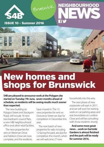 New homes and shops for Brunswick