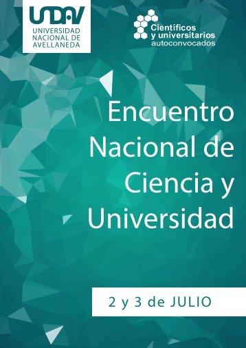 Nacional de Ciencia y Universidad