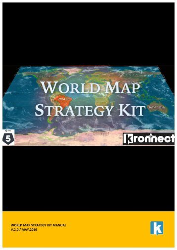 WORLD MAP STRATEGY KIT MANUAL V.2.0 / MAY.2016