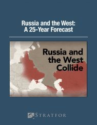Russia and the West A 25-Year Forecast United States