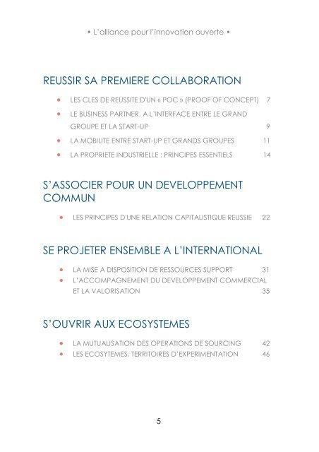 • L'alliance pour l'innovation ouverte • 1