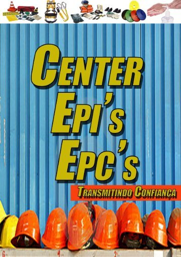 CATALOGO 2016  CENTER EPIs e EPCs