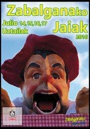 Fiestas de Zabalgana 2016