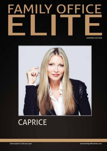 Family Office Elite Magazine Summer_16