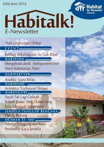 HABITALK! JUNE 2016