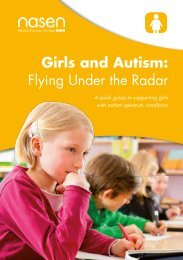 Girls and Autism Flying Under the Radar