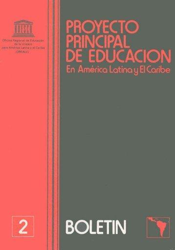 Proyecto Principal de Educación en América Latina y el Caribe ...