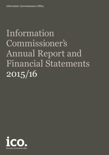 Financial Statements 2015/16