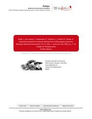 Redalyc. Antioxidant properties of extracts obtained from Grifola ...