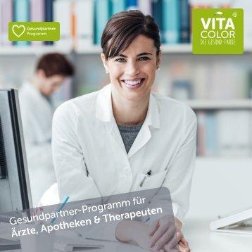 VitaColor Gesundpartner-Programm für Ärzte, Apotheken & Therapeuten