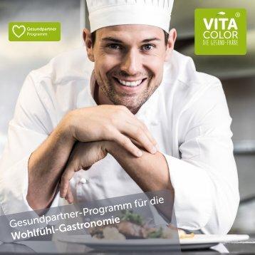 VitaColor Gesundpartner-Programm für die Wohlfühl-Gastronomie