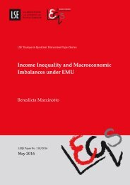 Income Inequality and Macroeconomic Imbalances under EMU