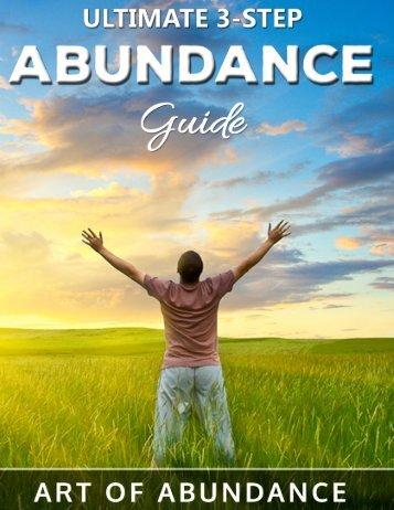 © Art of Abundance - The 3-Step Abundance Guide Page 1