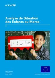Analyse de Situation des Enfants au Maroc