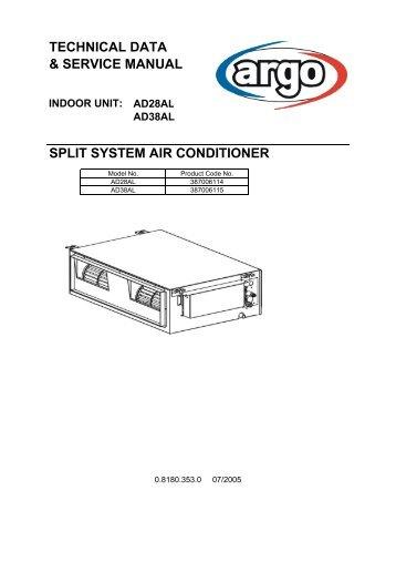 samsung split air conditioner manual pdf