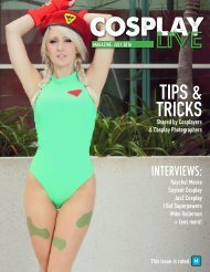 Cosplay Live Magazine July 2016